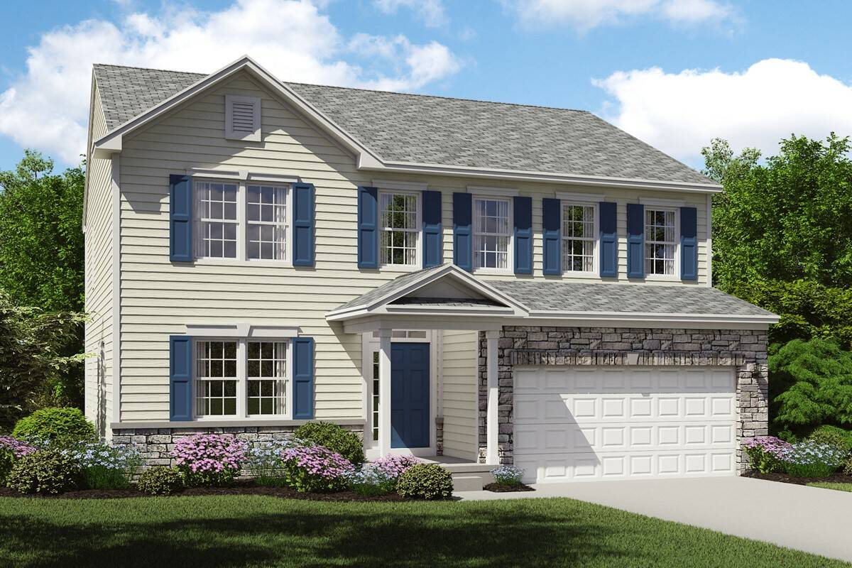 brantwood new home stone exterior cleveland ohio