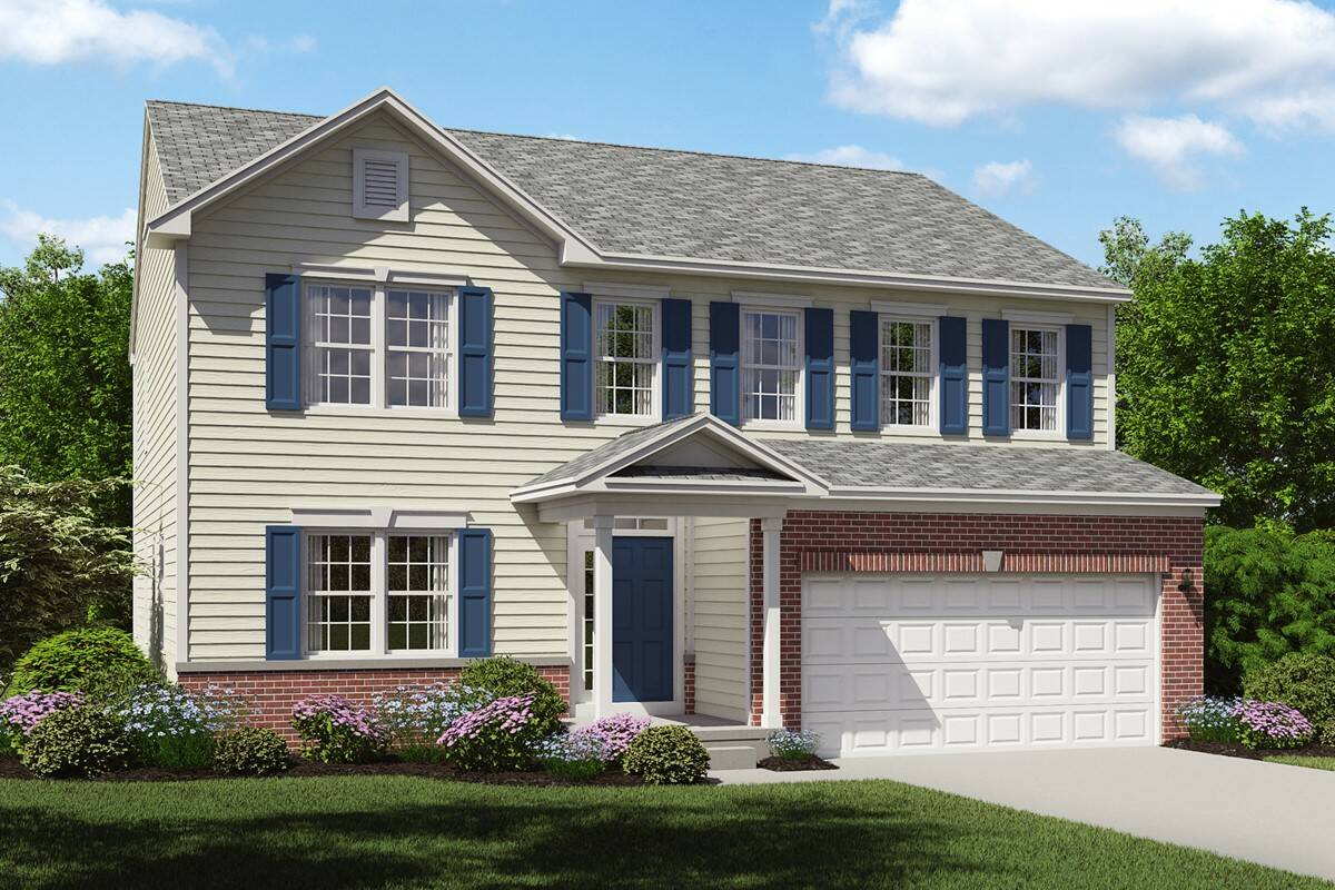 stunning brick exterior new home brantwood cleveland ohio