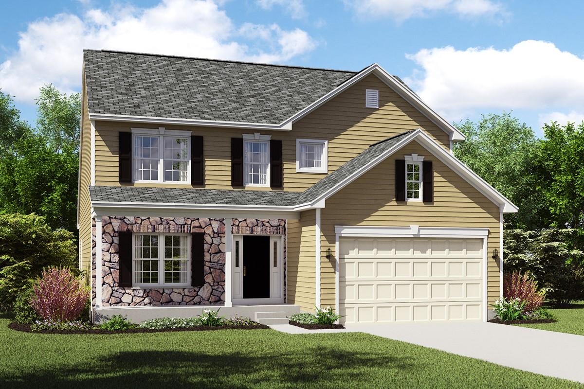 Oakridge-CT meadow lakes new homes near cleveland