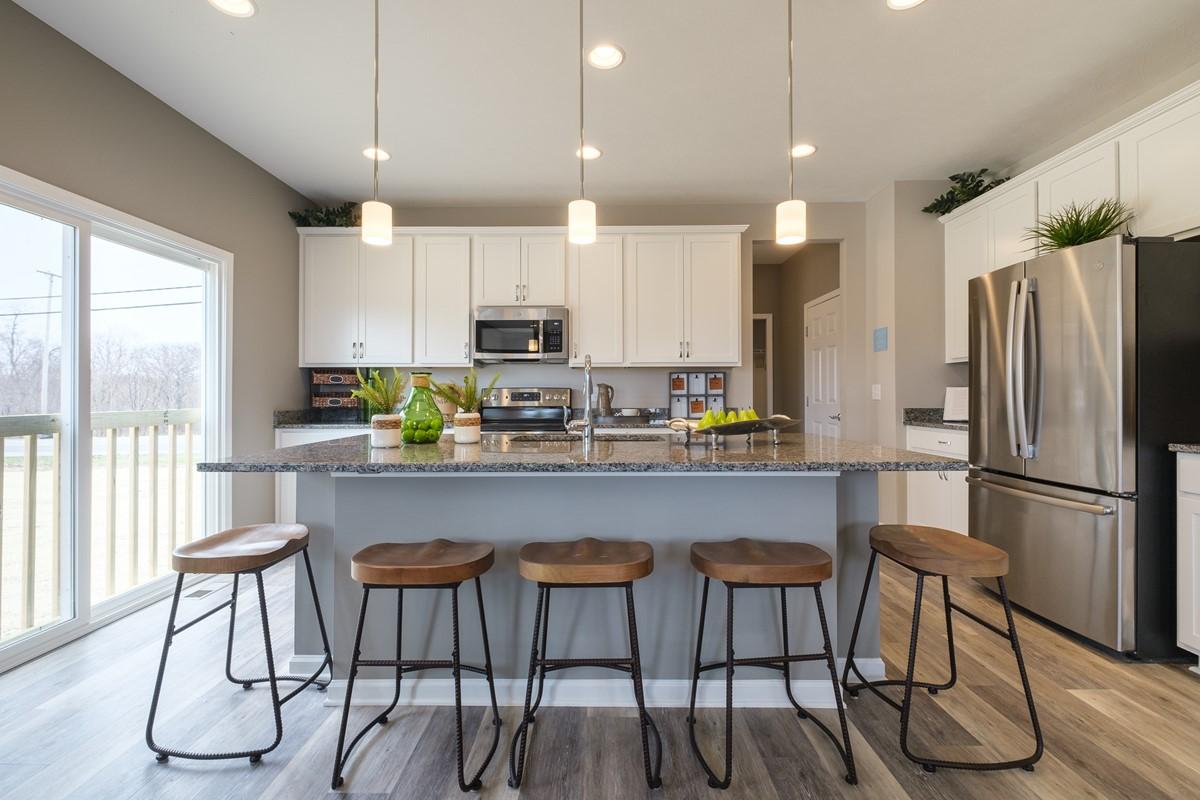 Henderson kitchen with island