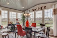 spacious dining area sun room cleveland ohio