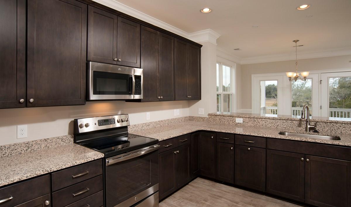 kitchen coligny 2 b lot 12 new homes at salk creek landing