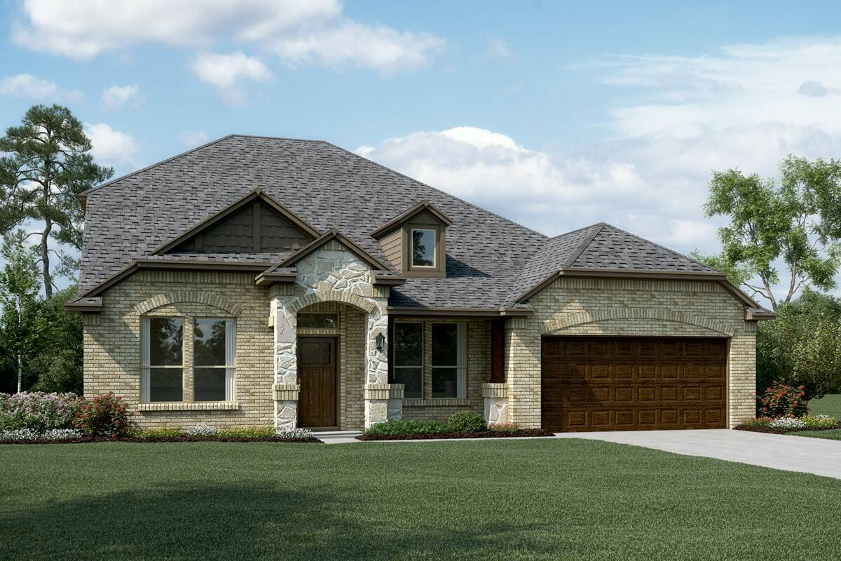 Ashmont II C Stone new homes dallas tx