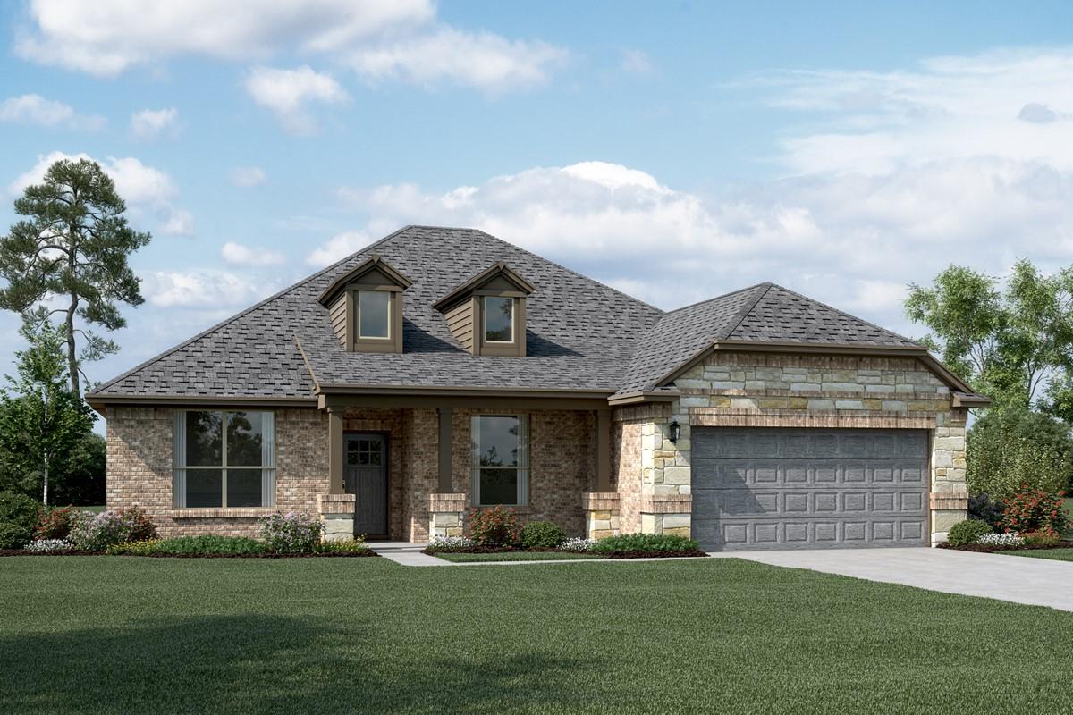 Avery II C Stone new homes dallas tx