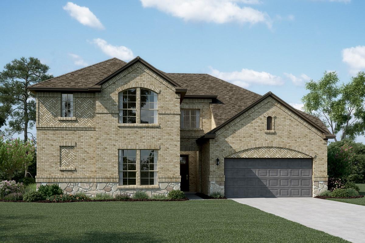 Bordeaux B Stone new homes dallas tx