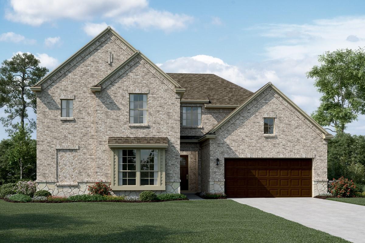 Bordeaux C Stone new homes dallas tx