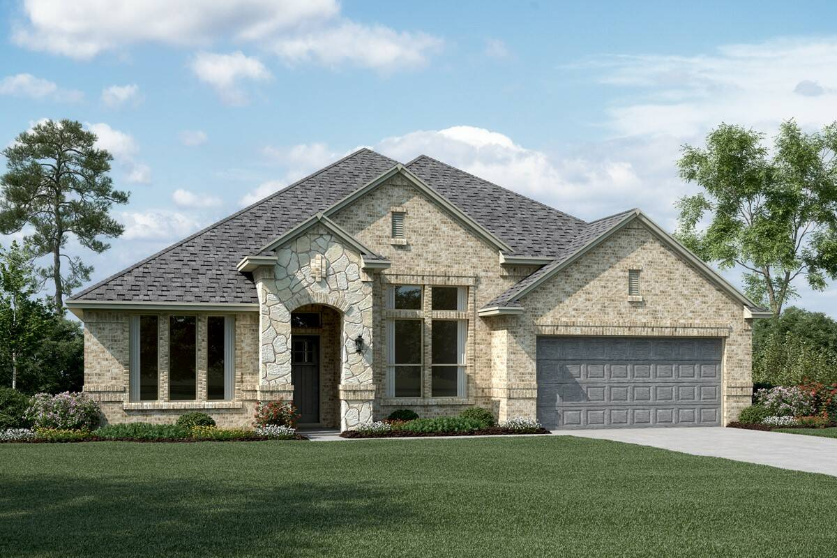Bridgeport II C Stone new homes dallas tx