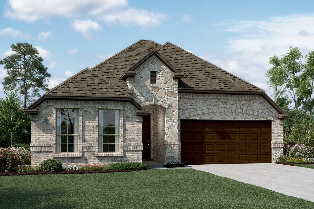 Bronson C Stone new homes dallas tx