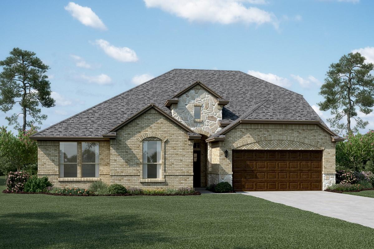 Brookstone IV B Stone new homes dallas tx