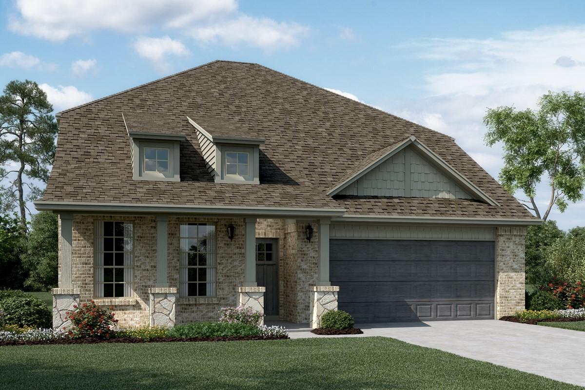 Calloway C Stone new homes dallas texas
