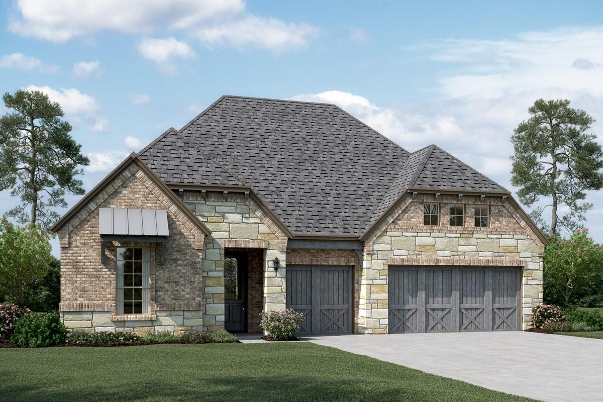 Cooperfield III E Stone new homes dallas texas