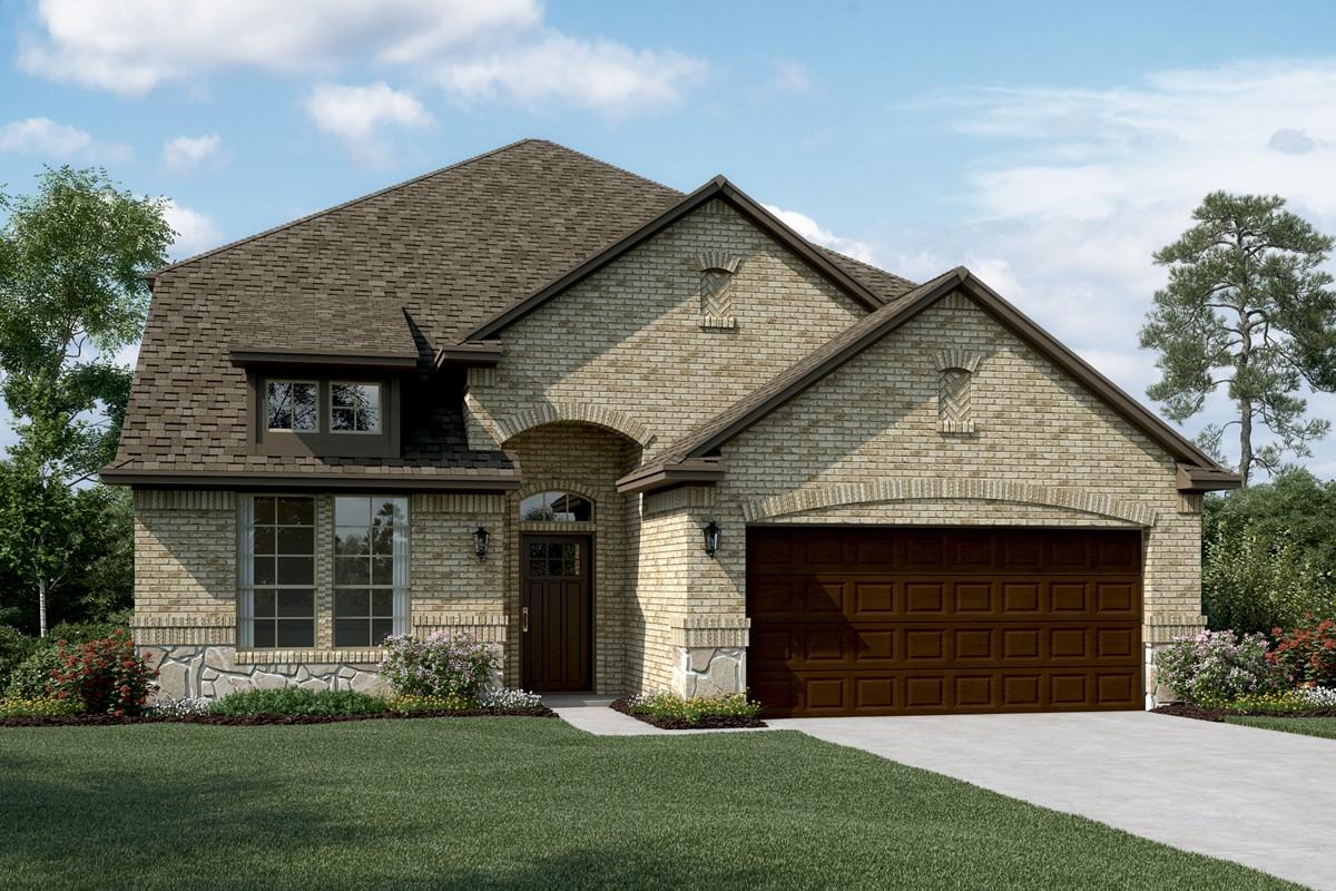 Coronado II C Stone new homes dallas texas