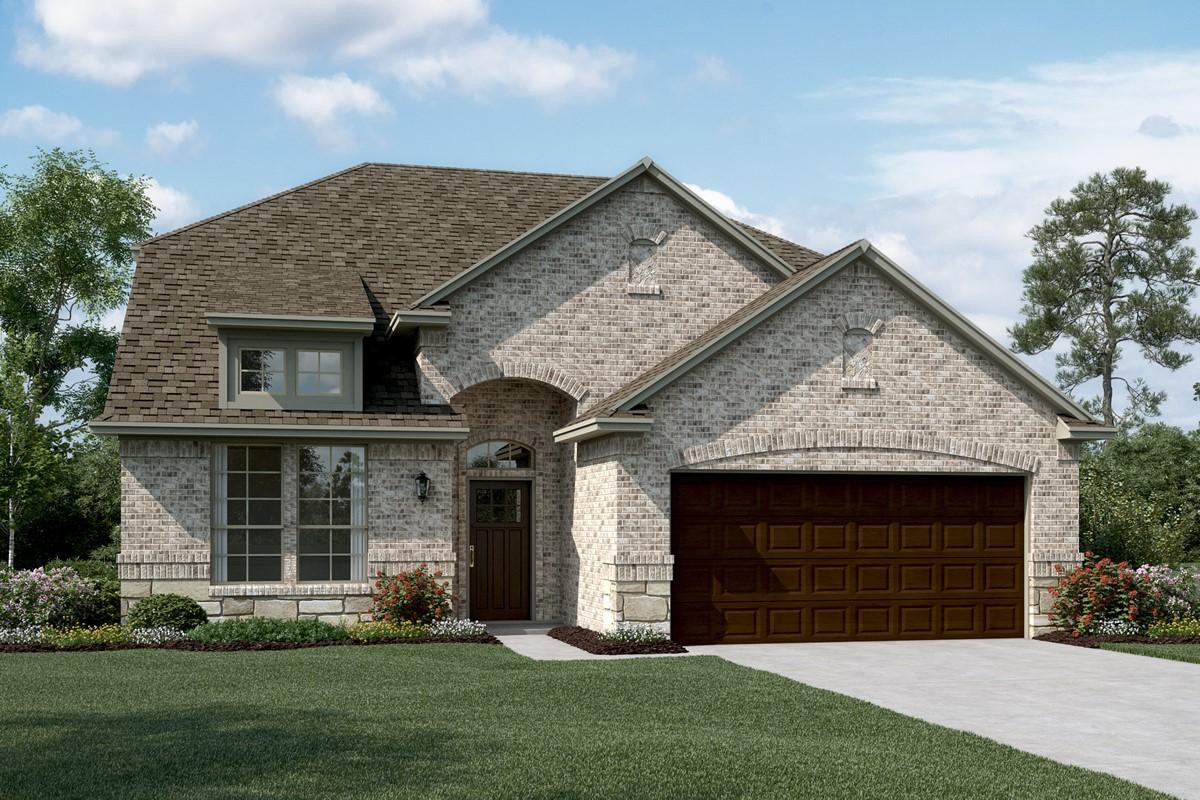 Coronado III C Stone new homes dallas texas