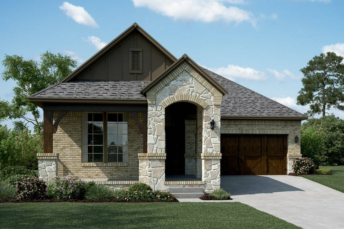 Del Ray B Stone new homes dallas tx