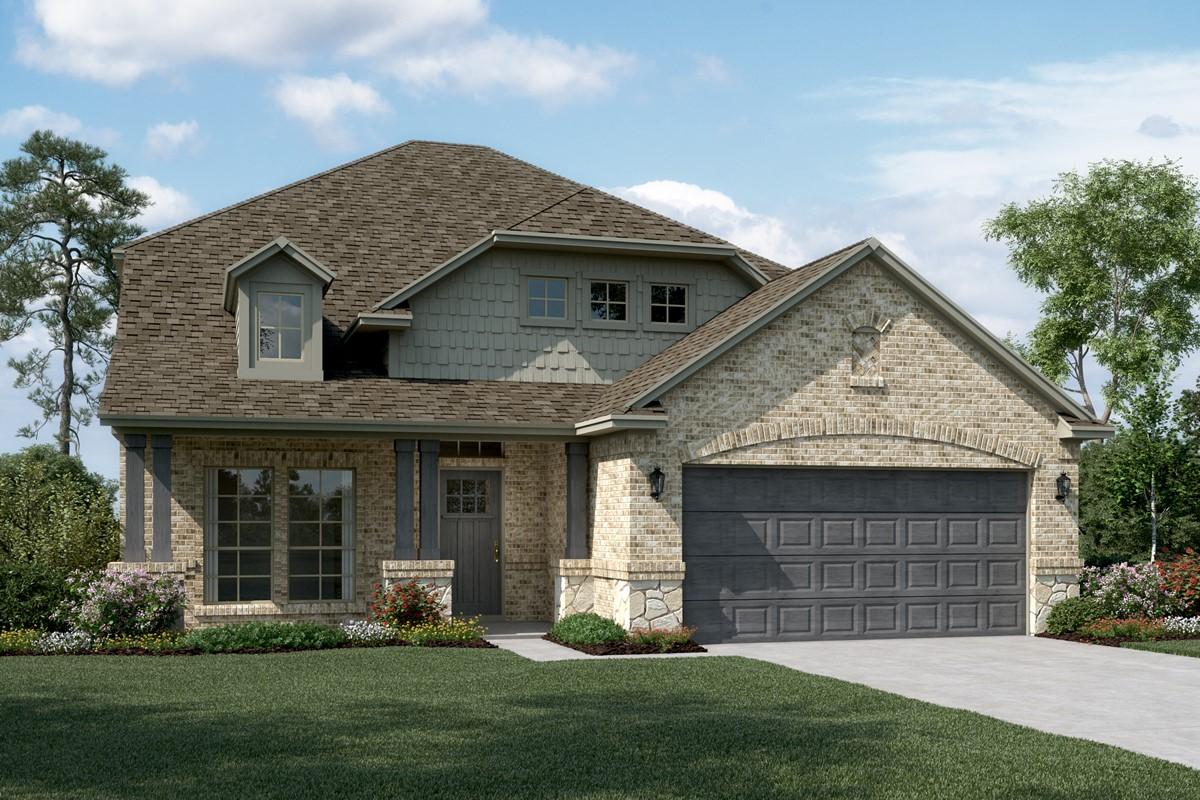 Delaware II C Stone new homes dallas texas