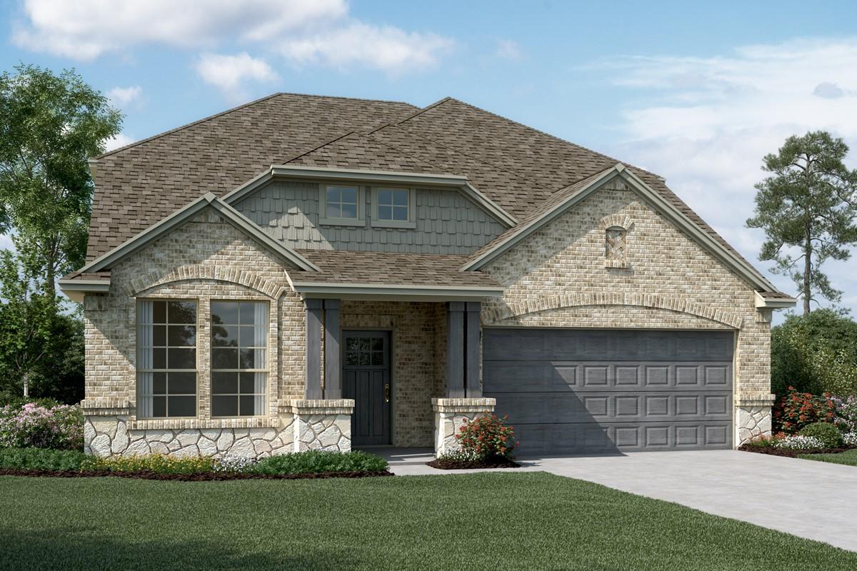 Delaware III C Stone new homes dallas texas