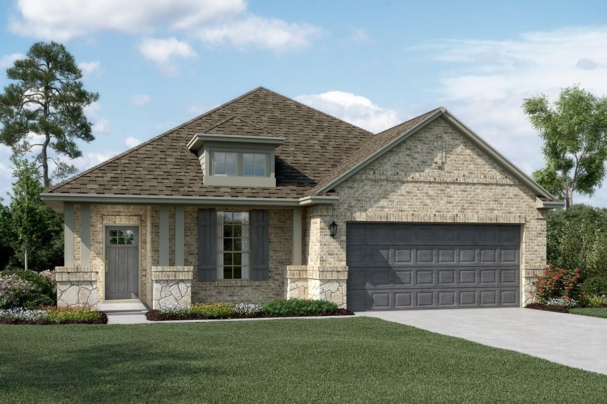 Dover C Stone new homes dallas texas