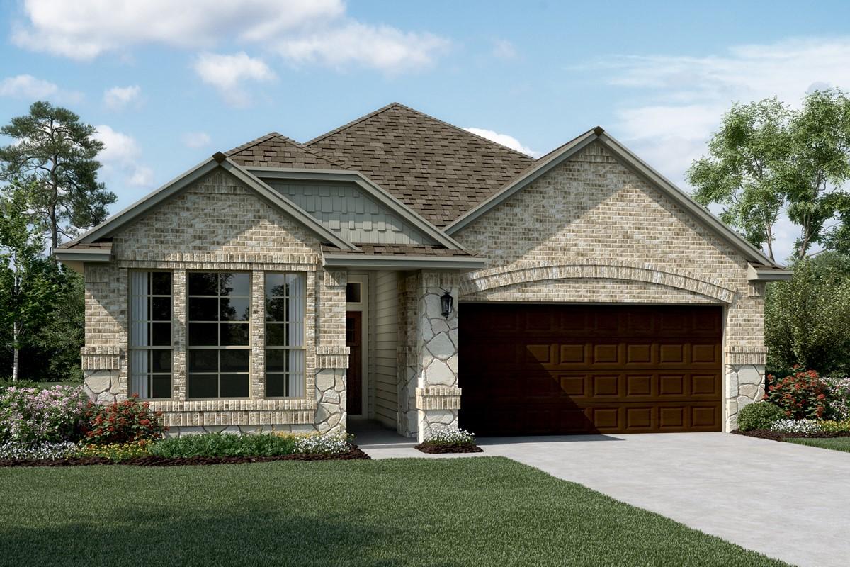Easton II C Stone new homes dallas tx