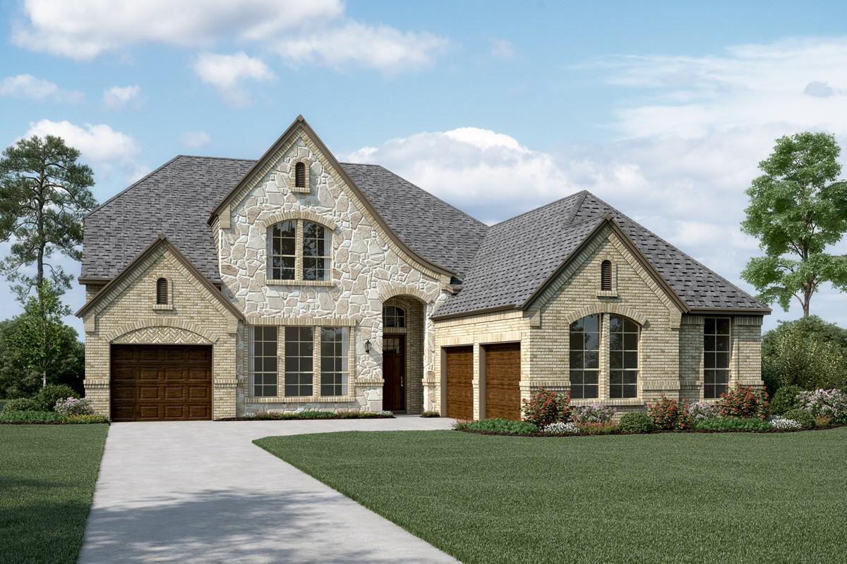 Pinnacle L Stone new homes dallas tx