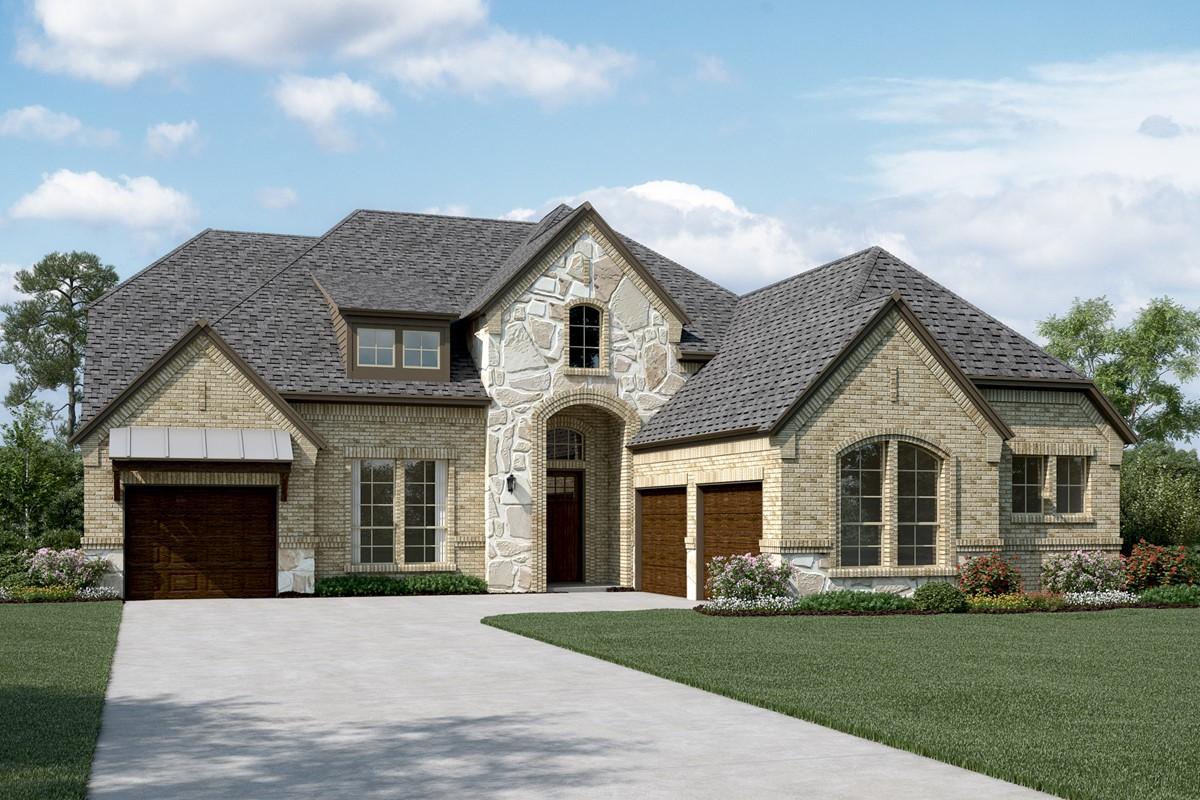 Primrose II L Stone new homes dallas tx