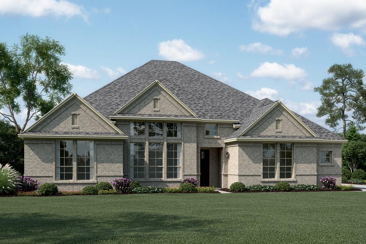 Ravenwood J new homes dallas tx