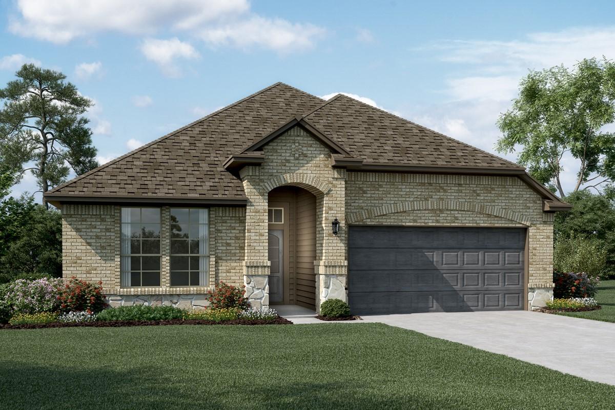 Rockford C Stone new homes dallas texas