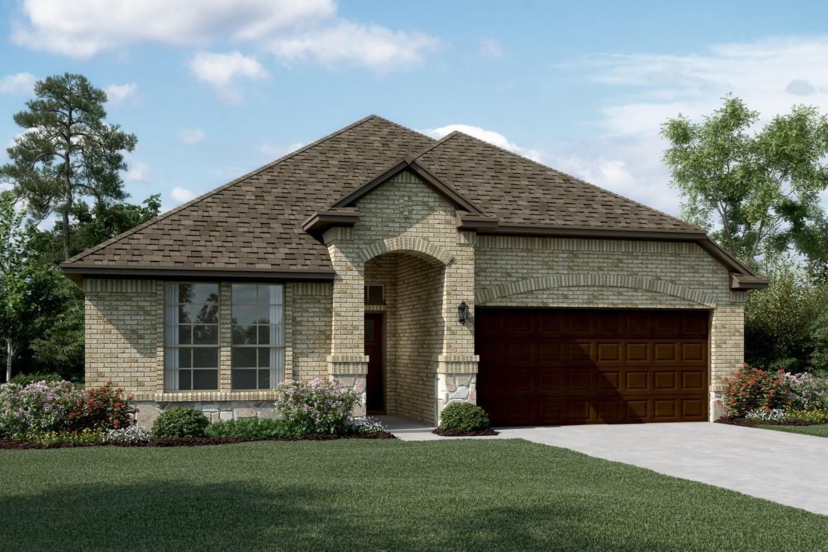 Rockford II C Stone new homes dallas texas