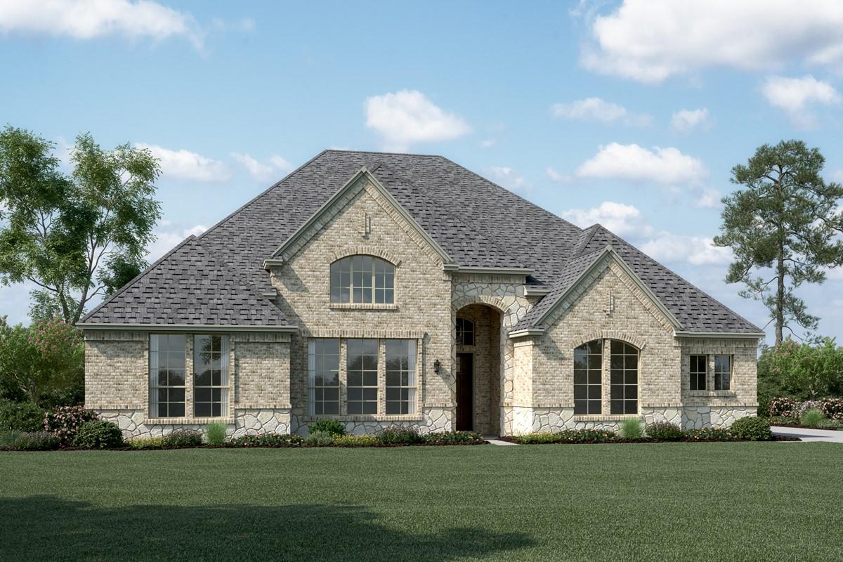 Springfield K Stone new homes dallas tx