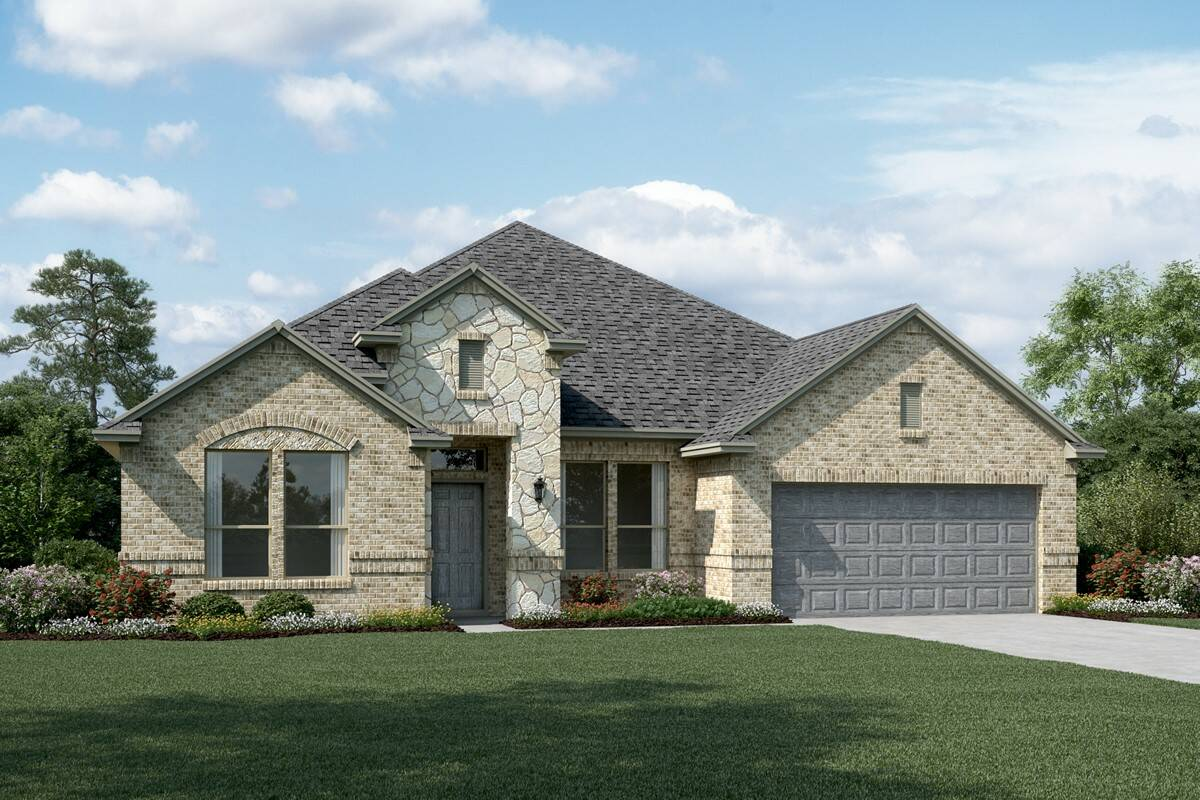 Sterling II C Stone new homes dallas tx