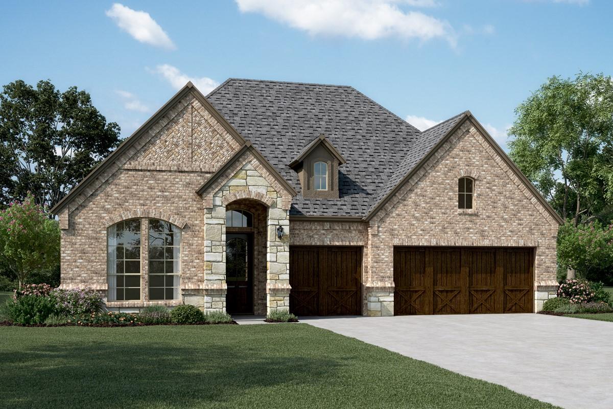 Walden III E Stone new homes dallas texas