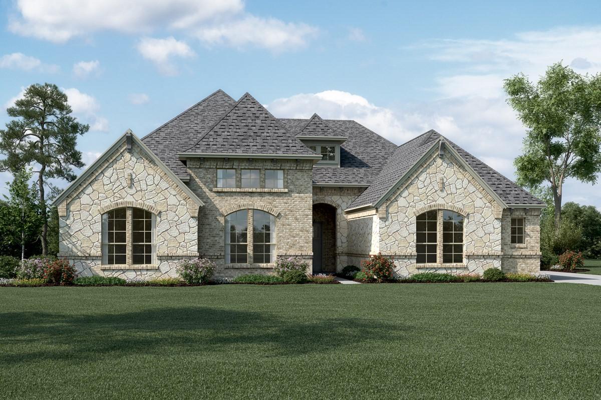 Windhaven L Stone new homes dallas tx