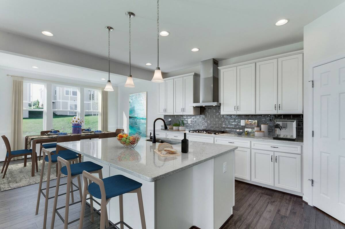 kitchen9 henley 452 lot 995 new homes at embrey mill