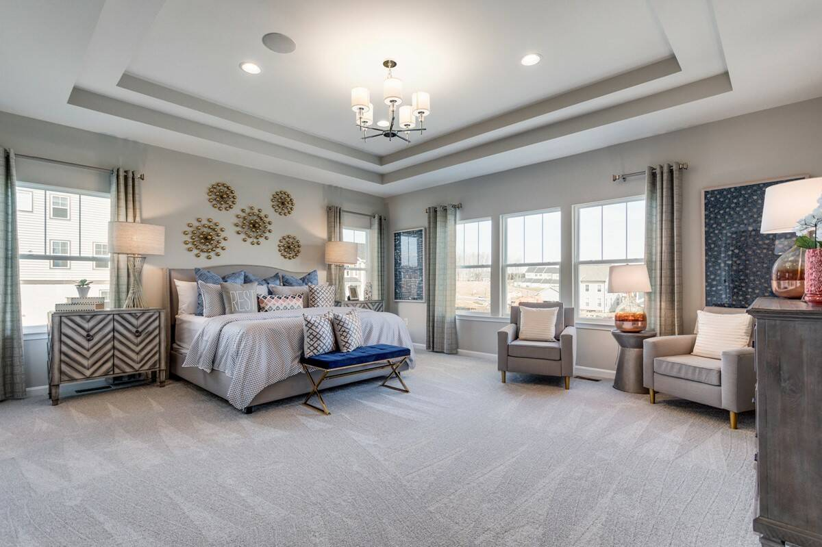york II owners suite new homes at embrey mill