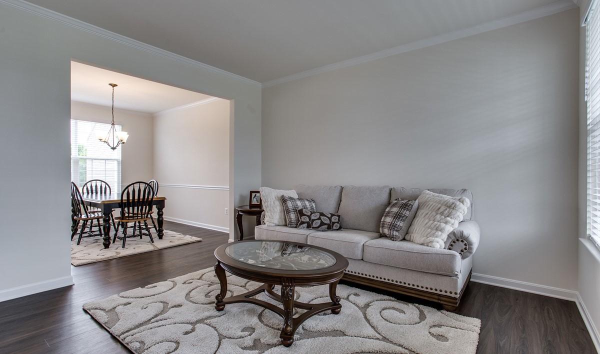living room dakota 114 lot 8 new homes at shenandoah springs